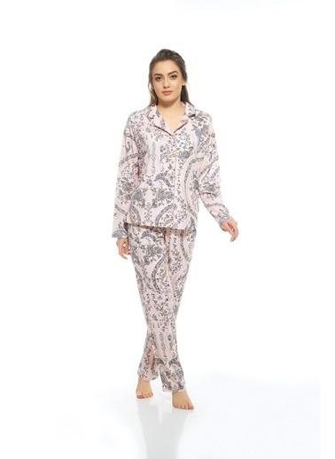 Estiva Pijama Takım Pudra